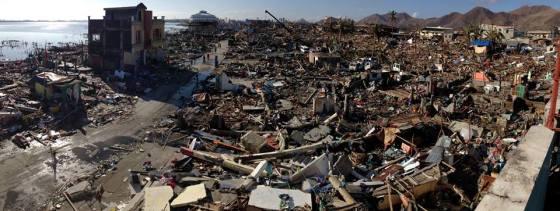 destruction in Tacloban