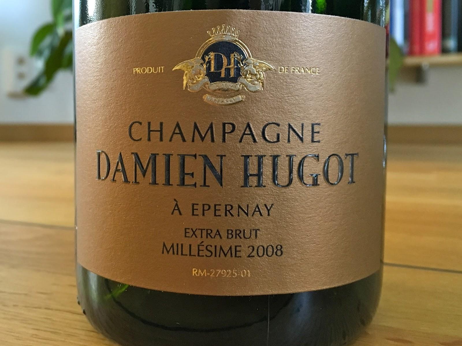Champagnebloggen: 2008 Damien Hugot Millésime